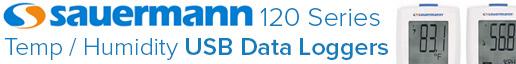 Sauermann 120 Series USB Data Loggers