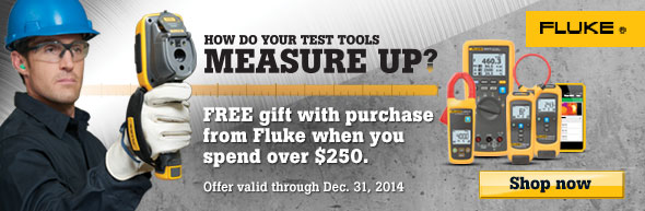 Fluke Free Gift-How do your test tools measure up?