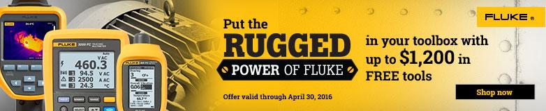 Rugged - Power of Fluke Promotion
