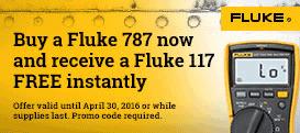FREE Fluke 117 with Purchase