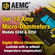 AEMC 2129.80 6240 10A Micro-Ohmmeter