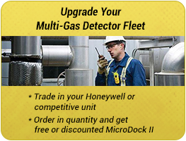 Upgrade your multi-gas detector fleet