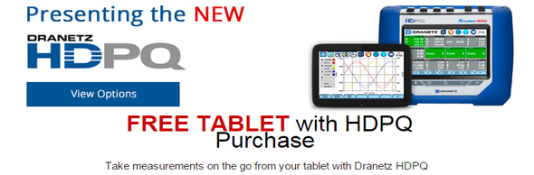 Dranetz Exclusive Tablet Promotion