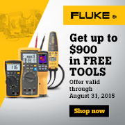 Fluke Test and Measurement Promo