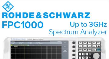 Rohde & Schwarz FPC1000 spectrum analyzer