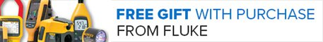 Free Gift From Fluke With Purchase