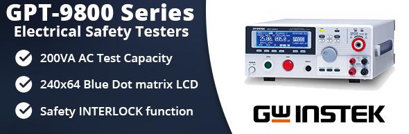 Instek GPT-9800 Series Hi-Pot Tester