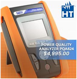 PQA824 4 CTs, HTFLEX33 for Power Quality Analyzers
