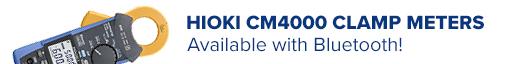 Hioki Clampmeters with Bluetooth