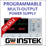 Instek GPD-2303SMulti Output Programmable Power Supply
