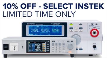Save 10 percent on select GW Instek