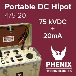 Phenix 475-20 Portable DC Hipot