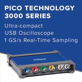 Pico 3000 Series Oscilloscope