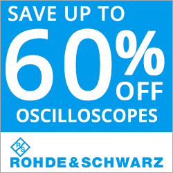 Rohde and Schwarz Oscillscope Packages