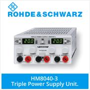 Rohde and Schwarz Power Supplies