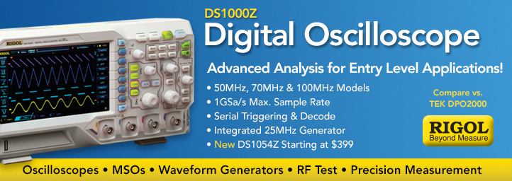Rigol DS1000Z Series Digital Oscilloscope