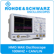 Rohde and Schwarz HMO Max Oscilloscope Package
