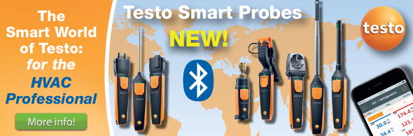 Testo Smart Probes - The SMART world of Testo HVAC