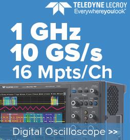 1 GHz, 10 GS/s, 16 Mpts/Ch Teledyne Lecroy Oscilloscope
