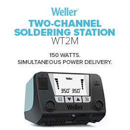 Weller WT2M 2-Channel Soldering Station