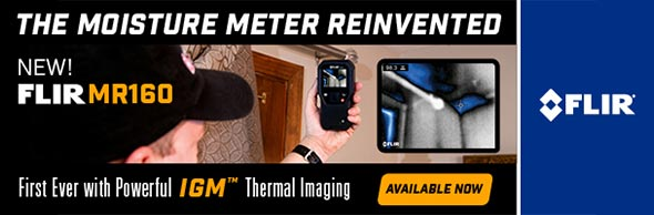FLIR MR160 Thermal Moisture Meter