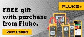 Fluke Free Gift Promo