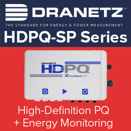 Dranetz HDPQ-SP High Definition PQ & Energy Monitoring
