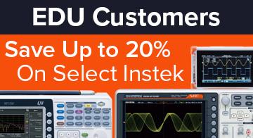 Instek EDU promotion - 20% off select products