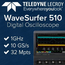 Teledyne LeCroy WaveSurfer 510 1GHz digital oscilloscope