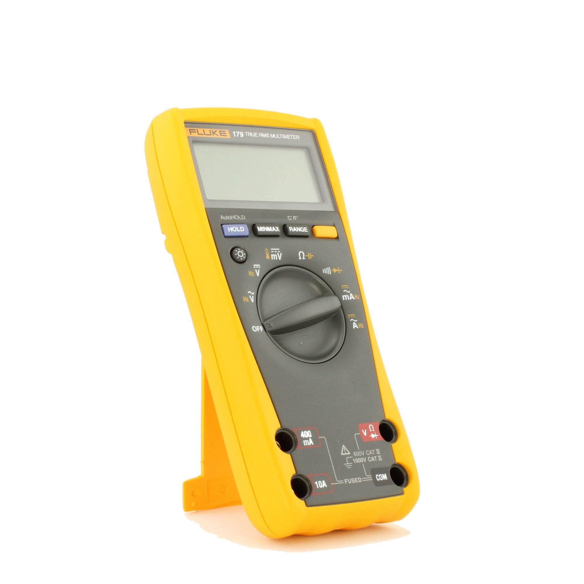 Fluke 179 Digital Multimeter 6000 Count DMM with Backlight & Temperature  Measurement | TEquipment.NET