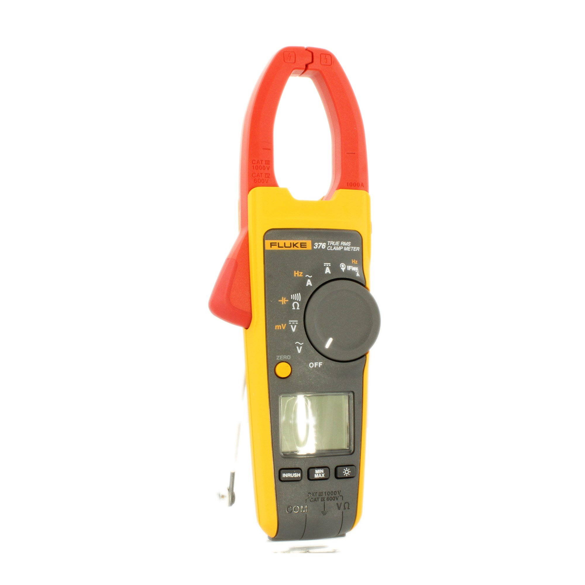 Fluke 376 True Rms Ac Dc Clamp Meter With Iflex Lcr Bridge Patch Measure Smd Universal Clip Multipurpose Test