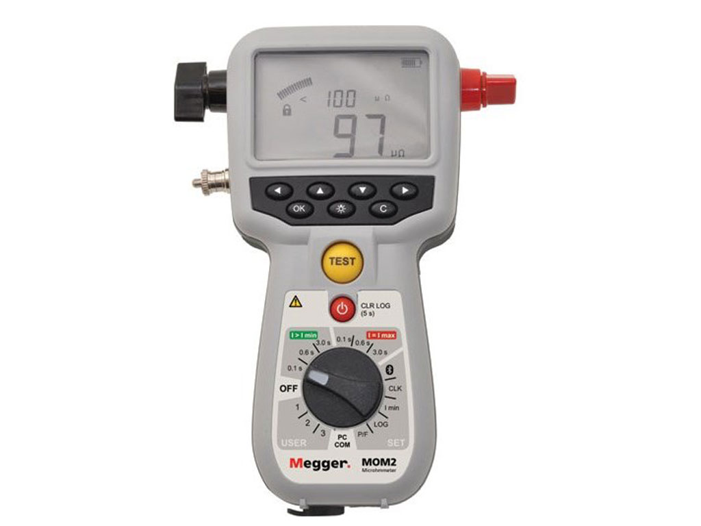 Ohmmeter Good Measurements And A High Low : Megger dlro enhanced features amp digital low resistance