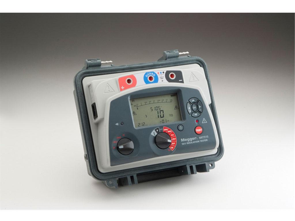 Megger Mit525 5 Kv Diagnostic Insulation Resistance Tester Santronics Ac Dc Voltage Detectors Quickly Test For Energized Circuits