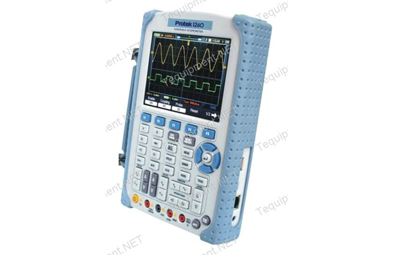 Pro Tek Oscilloscope : Protek handheld oscilloscope mhz bandwidth with