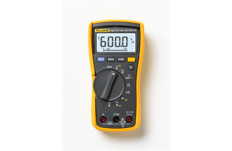 Fluke 115 Multimeter : Fluke field service technicians multimeter