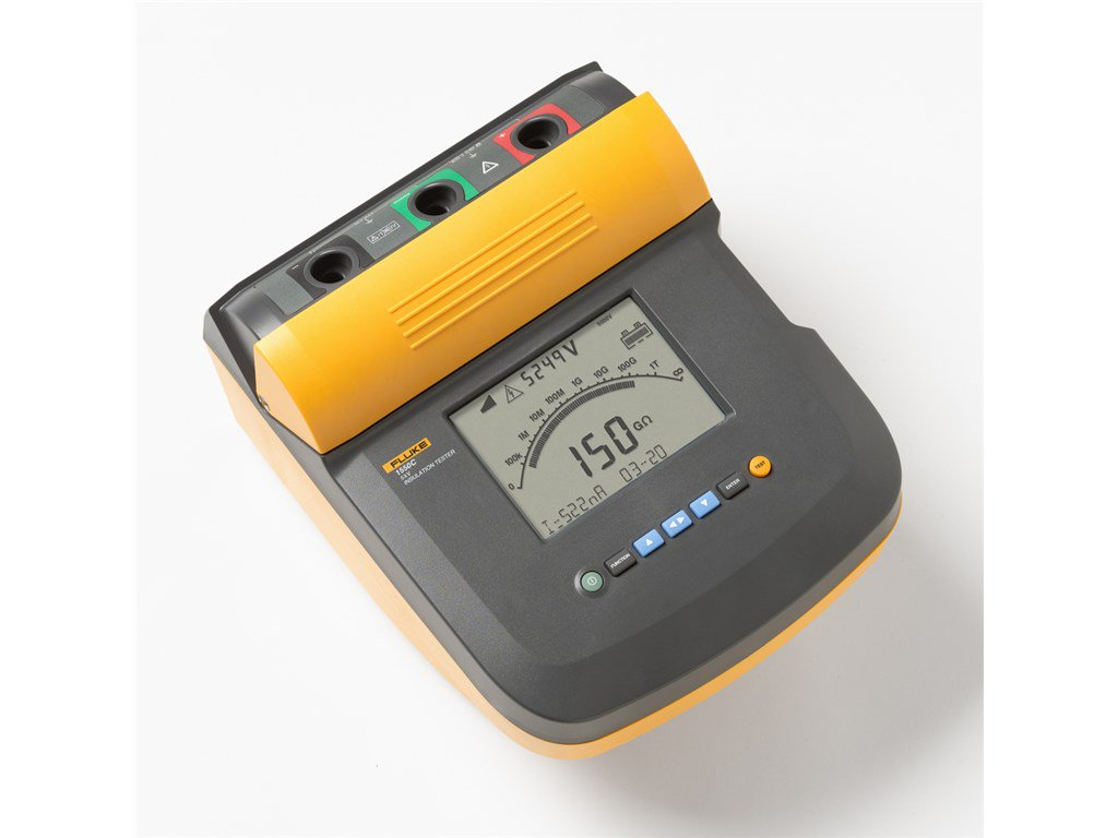 Fluke 1550c Insulation Resistance Tester Up To 5kv Santronics Ac Dc Voltage Detectors Quickly Test For Energized Circuits