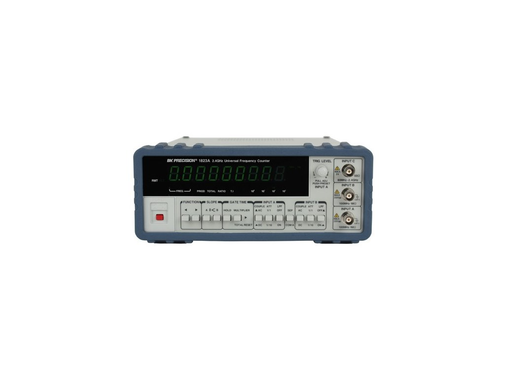 Bk 1823a Universal Frequency Counter With Ratio Function Audio Gt Filters 1000 1 Tuning Voltage Controlled Filter 24ghz