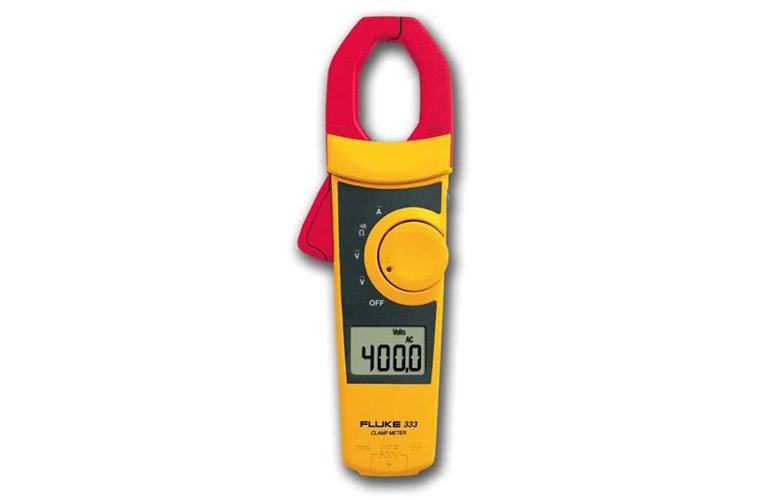 Fluke 333 Clamp Meter : Fluke clamp meter tequipment