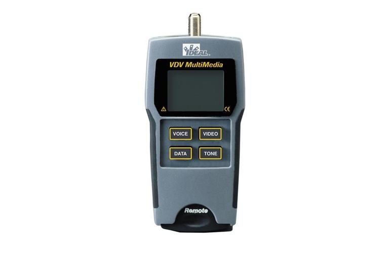 Ideal 33 856 Cable Tester Kit Vdv Multimedia Tequipment Net