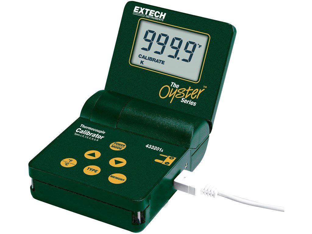 Extech 433201 Calibrator Multi-Type Thermometer