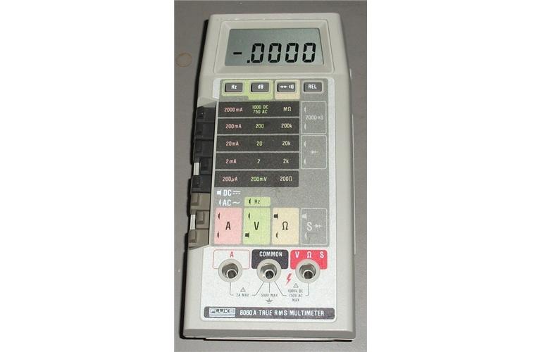 fluke 8060a digital multimeter 4 1 2 digits tequipment net rh tequipment net Fluke 117 True RMS Multimeter Fluke 289 Multimeter True RMS