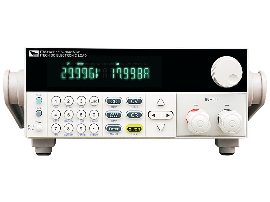 Itech It8511a Single Channel Dc Electronic Load 150v 30a 150w Cd Writer 8211 How The Burner Works It8511aplus