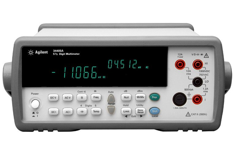 Agilent Digital Multimeter : Agilent a digital multimeter digit