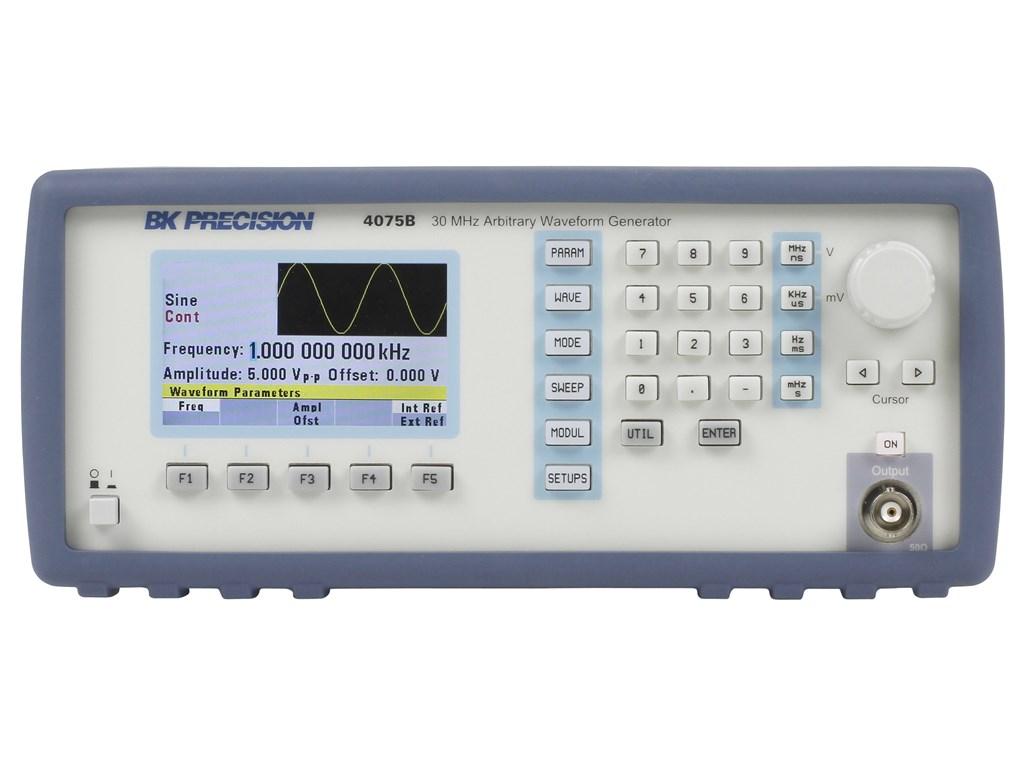 Bk 4075b 30 Mhz Arbitrary Function Waveform Generator Generators Series