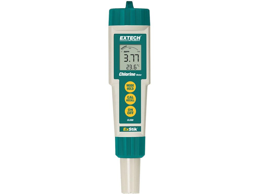 Extech CL200 Waterproof ExStik Chlorine Meter