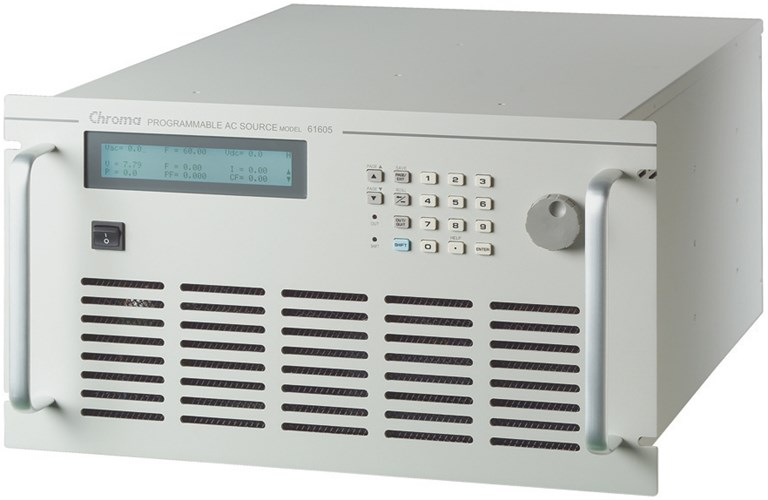 Low power programmable ac source 61600 chroma.