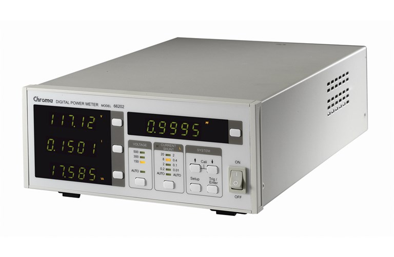 No Rf Digital Electric Meter : Chroma digital power meter a kw tequipment