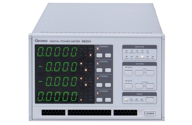 No Rf Digital Electric Meter : Chroma digital power meter channel tequipment