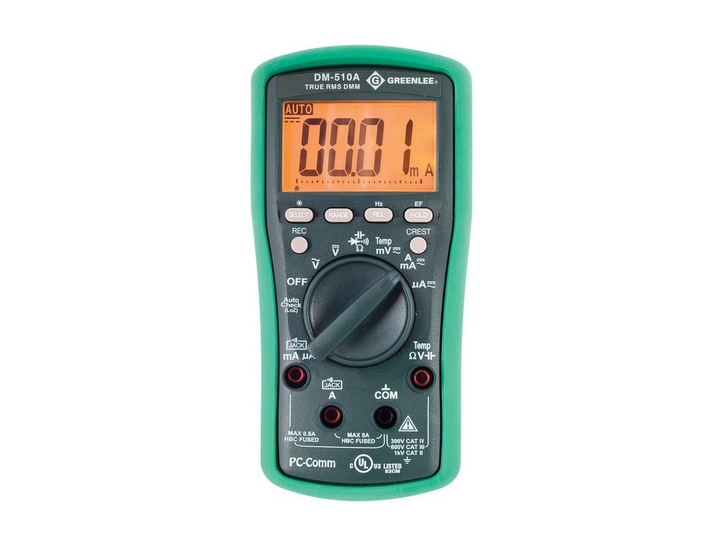 Greenlee DM-510A Professional Plant Digital Multimeter | TEquipment