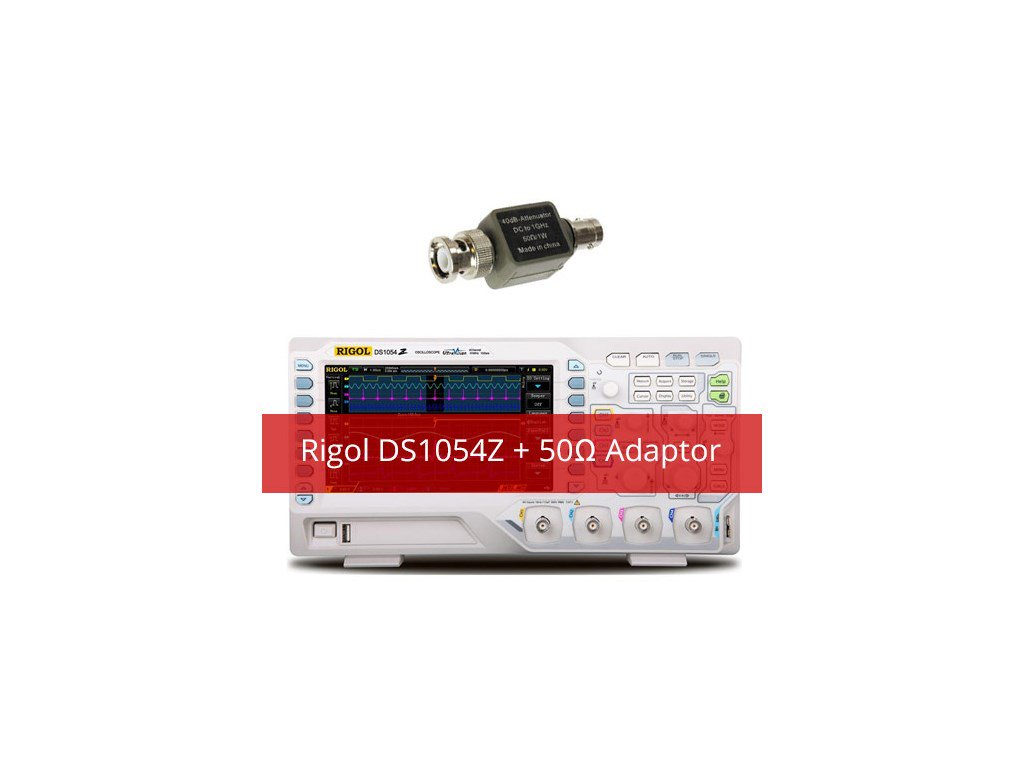 Rigol Ds1054z Kit2 Digital Oscilloscope With Extra 50 Ohm Impedance Simplest1wattleddrivercircuitat220v120vpng Ds1054 Mhz